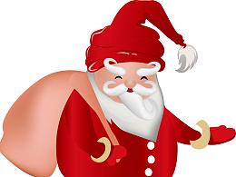4款关于圣诞节的卡通设计(原创)