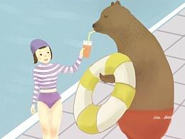 比尼熊的夏天