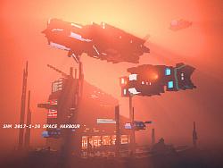 空港-Space Harbour voxel