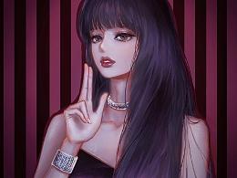 插画-Lisa-