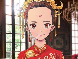 #照片写生·习作#秀禾新娘子Bride