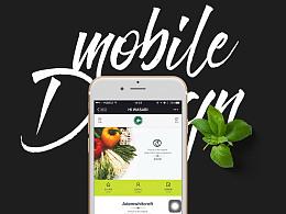 HI Wasabi 日式料理店 新移动页面设计,微信/移动网页