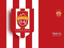 杭州启盟足球俱乐部队徽