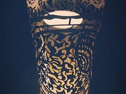 纸雕灯设计