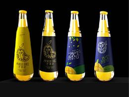 三锋饮料包装设计