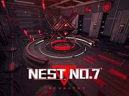 科幻游戏场景:NEST NO.7