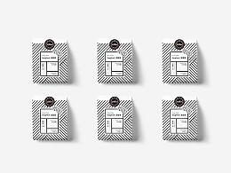 2017丨COCORO咖啡品牌标志及包装设计