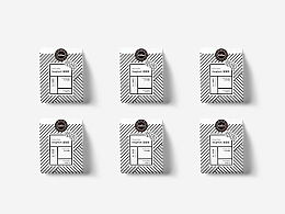 COCORO咖啡品牌标志及包装设计