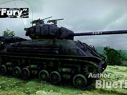 """坦克""""Fury"""""""