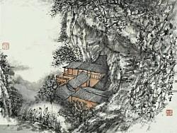 许飞国画作品