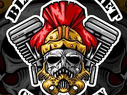 骑士-暗黑-头盔