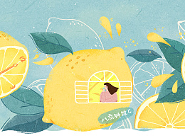 宜代生活茶包装插画设计