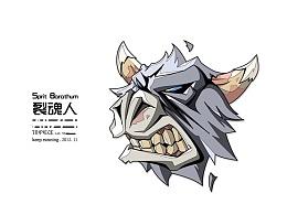矢量 - DOTA1 (魔兽)人物大头贴
