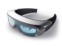 3D AR智能眼镜