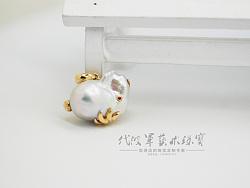 代波军艺术珠宝定制----兔子珠宝异型珍珠镶嵌设计作品欣赏