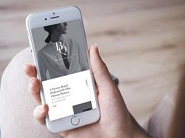无线端/移动端h5页面  微信品牌介绍推广页面