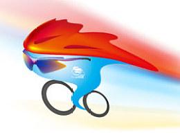 """2012年环北京职业公路自行车赛吉祥物""""京""""灵(已应用)"""