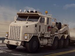 OSHKOSH M1070 重型装备运输系统