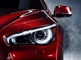 CGI Automotive photography -Infiniti Q50