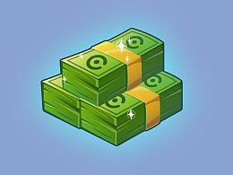 游戏UI之现金图标教程