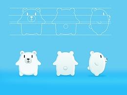 度熊形象探索设计