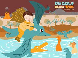 恐龙救援队继续出发