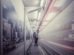 行走在香港的大街和山巅