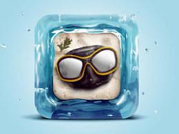 潜水乐园icon--教程练习作业