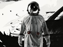 平面作品《Astronaut》