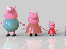 小猪佩奇雕塑设计制作