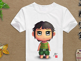 T恤设计  原创图案  卡通角色