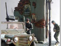 二战废墟模型