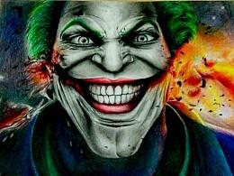 彩铅绘画——joker