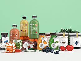 你好大海作品「遇愫organic style 」品牌设计 - 无负担的生活感,不止于爱!