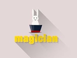 动效设计 动画icon 卡通设计 魔术师动效
