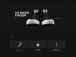 UEMO005企业网站展示一黑一白