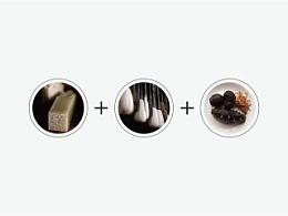 牧海渔歌海产品logo设计初稿