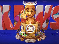 KAWS™ × Nintendo™ 联合海报练习(勿商用)