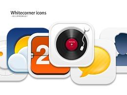 Whitecorner Icon Set