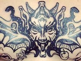 在下的纹身设计