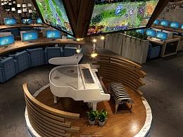 赣州网咖室内设计