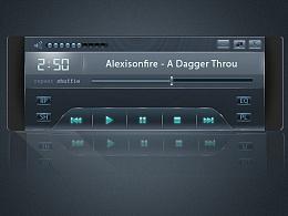 音乐界面UI