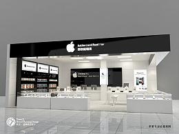 一套苹果店的工装图