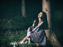 在黑夜的小树林里试探