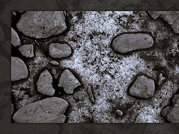 [旅行摄影]冬日黄河边的冰水石 | 肌理的美妙