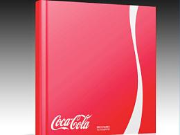 版式设计-可口可乐宣传画册