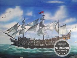 青岛墙绘 青岛3D画 青岛彩绘-青岛手绘墙