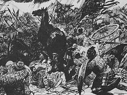 1997年12月出版发行《楚汉之战》连环画·Page19-20