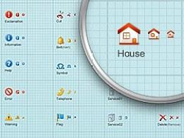 GUI界面基础元素图标库