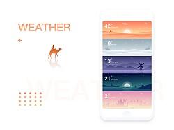 天气界面 Design